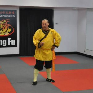 Shaolin Monk Sifu Yanxu visits Steve DeMasco's Shaolin Studios in Keene, NH
