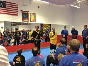 GrandMaster DeMascco introduces Shaolin monk