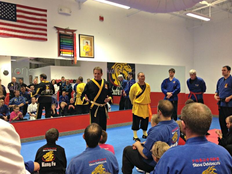 grandmaster steve demasco shaolin monk seminar
