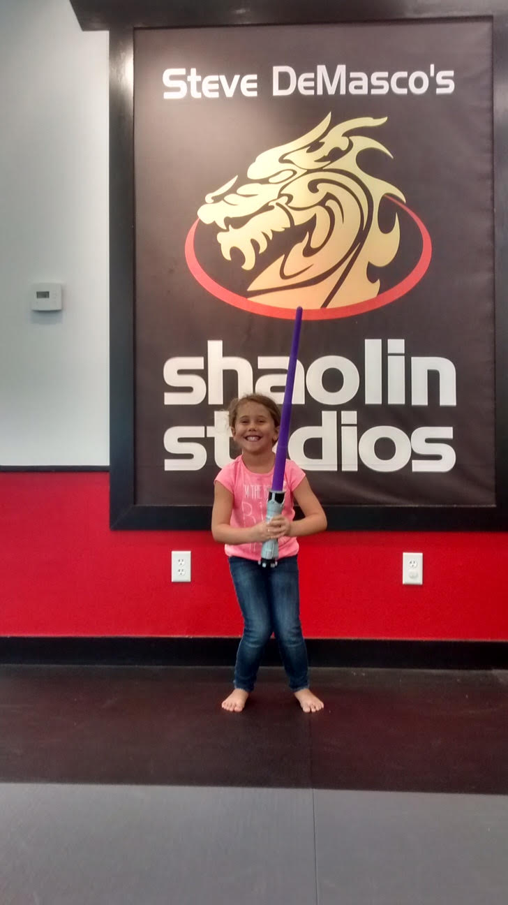 Star Wars Day Fun at Steve DeMasco's Shaolin Studios
