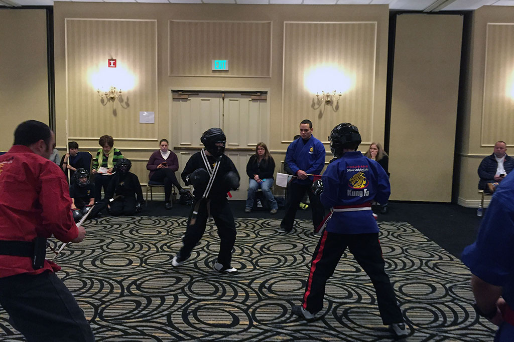 Martial Arts Sparring Competition