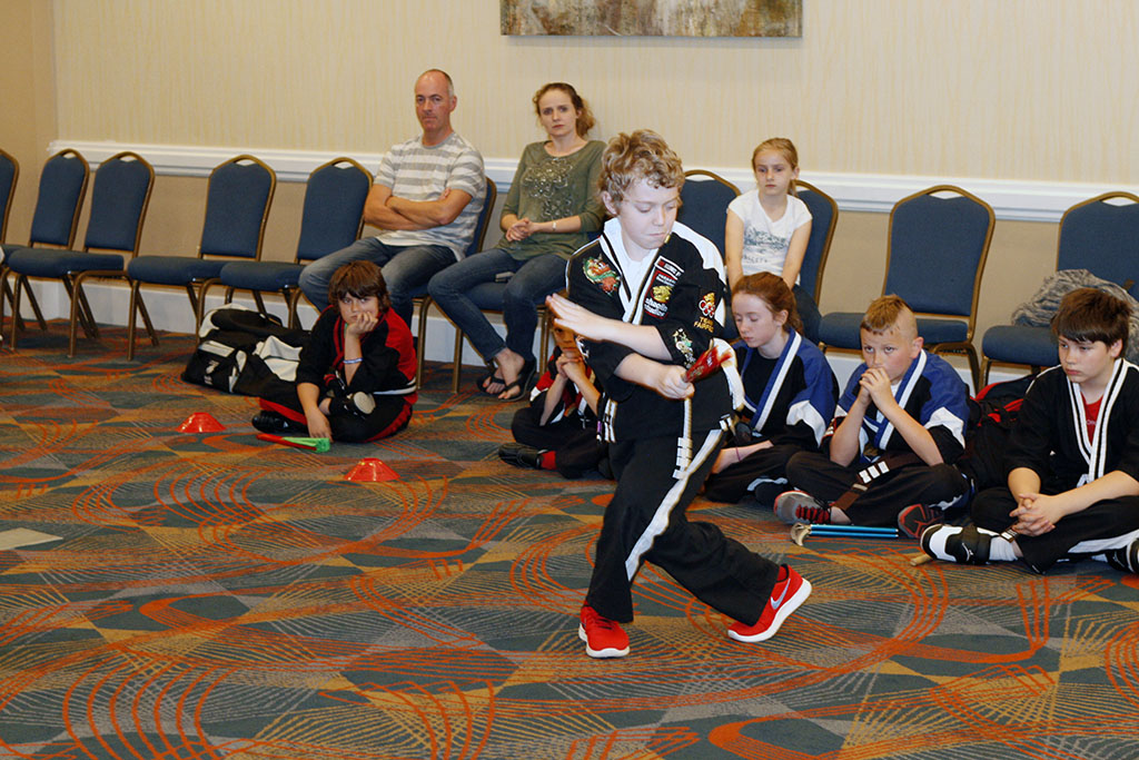 Martial Arts Weapons Competition